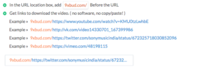 9Xbuddy youtube video downloader