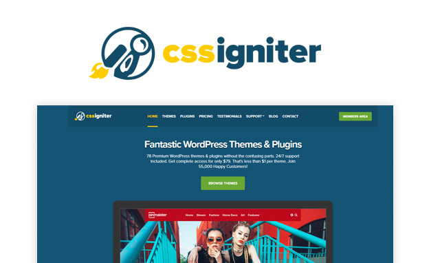 Photo of CSSIgniter Offers Beautiful Themes and Fantastic Value