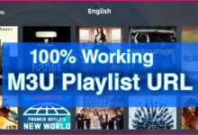 Photo of Best M3U Playlist For Unlimited Free IPTV Channels (100% Working)