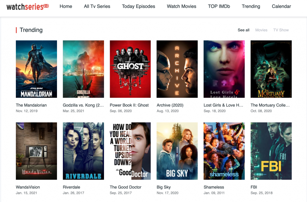 Top 10 Sites Like Thewatchseries to Download Free TV Series and Movies